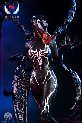 【In Stock】War Story Studio Marvel Venom Queen of the dark spider statue