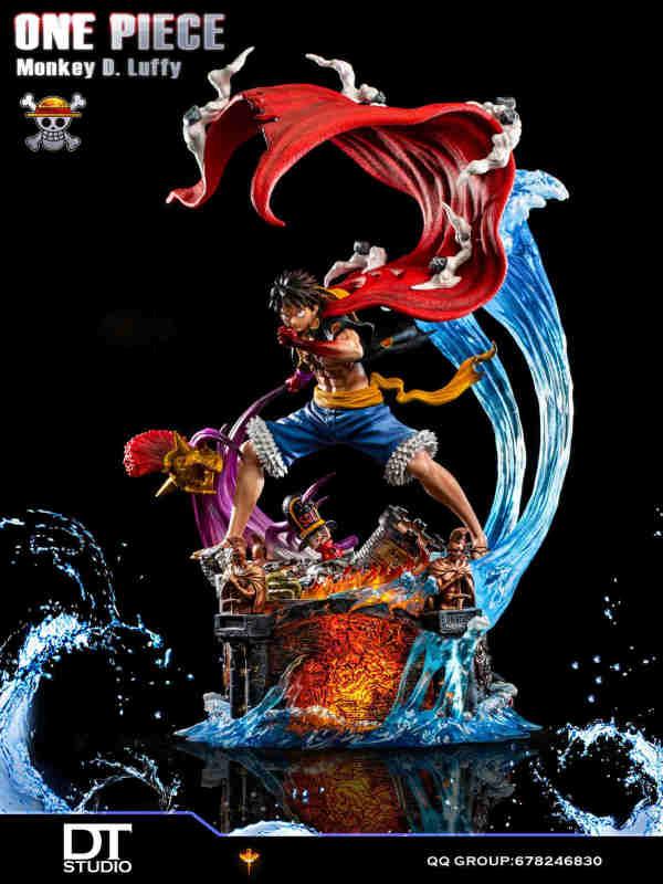 【In Stock】DT Studio One Piece Luffy straw hat pirates resonance series resin statue