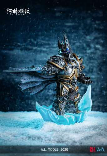 【Preorder】AL Studio Warcraft Arthas SD scale resin statue's post card
