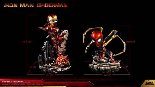 【In Stock】DNF Studio Marvel Iron Man&Spider-Man statue