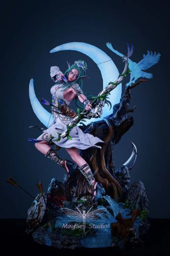 【In Stock】MayFlies Studio Warcraft3/Dota Tyrande Whisperwind Resin Statue