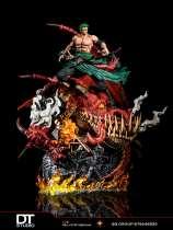 【In Stock】DT Studio One Piece Zoro resonance resin statue