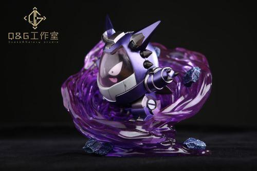 【In Stock】QG Studio Pokemon Gengar mechanical armor resin statue