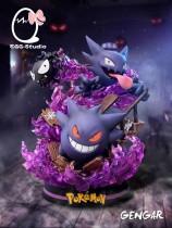 【In Stock】EGG Studio Pokemon Gengar ghost combination resin statue