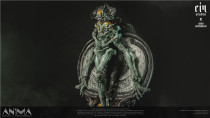 【Preorder】Ein Studio x Arsen Asyrankulov Studio Anima resin statue's postcard