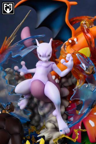 【In Stock】MFC Studio Pokemon Mewtwo Counter Attack Resin Statue