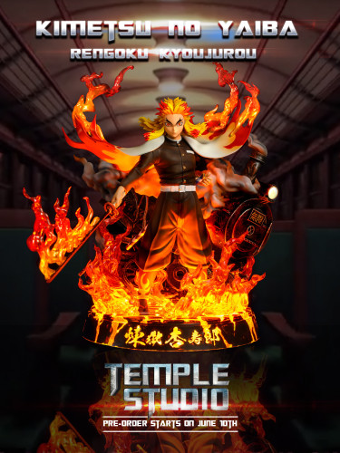 【In Stock】Temple Studio Demon Slayer Rengoku Kyoujurou resonance resin statue