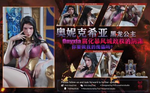 【Preorder】Four Horsemen Studios Onyxia resin statue's post card