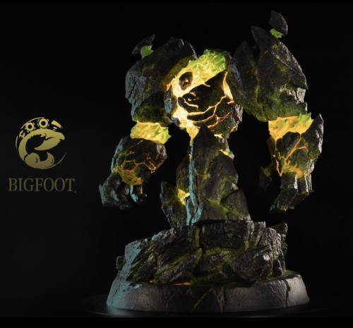 【Preorder】Big Foot Studio Warcraft3 Inferno resin statue's post card