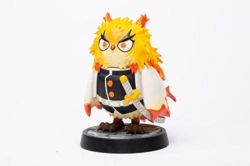 【In Stock】XIBING Studio Demon Slayer Rengoku Kyoujurou owl resin statue