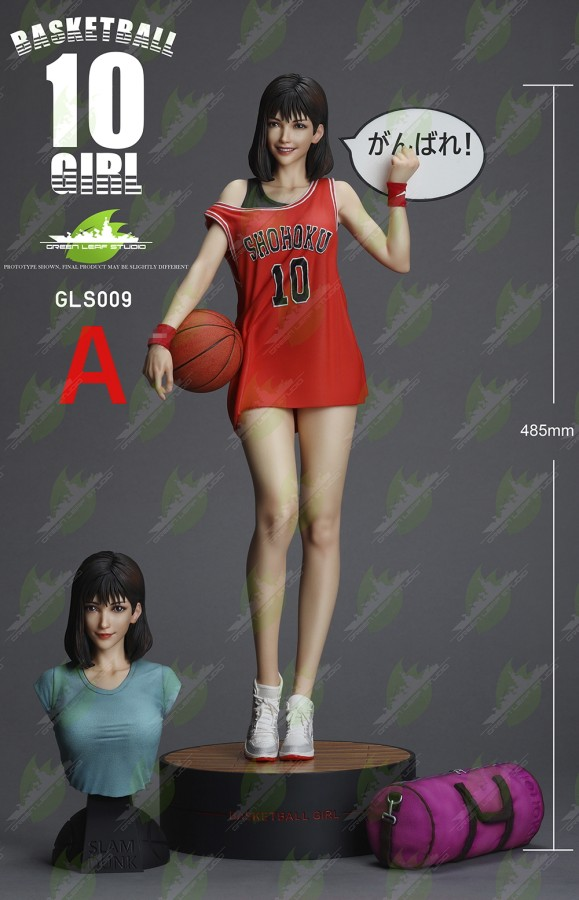 【Preorder】Green Leaf Studio SlamDunk Akagi Haruko resin statue's post card