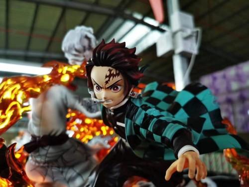 【In Stock】 NIREN Studio Demon Slayer Kimetsu no Yaiba Kamado Tanjirou Sun of breathing resin statue