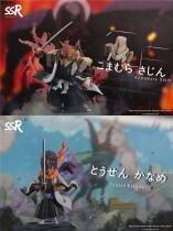 【Preorder】SSR Studio BLEACH Komamura Sajin&Tousen Kaname resin statue's post card