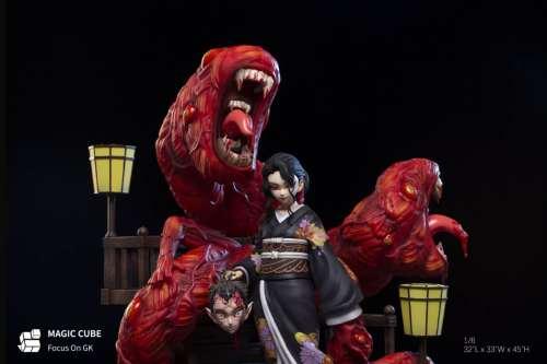 【In Stock】Magic Cube Studio Demon Slayer Kibutsuji Muzan resin statue