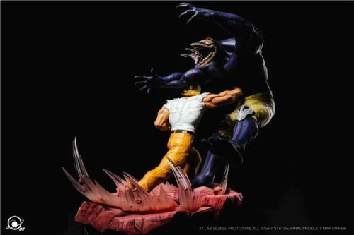 【In Stock】37Lab Studio My Hero Academia All Might VS Nomu 1/6 resin statue