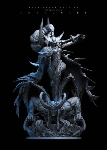 【Preorder】Windseeker Studio Warcraft Maiev hunter resin statue's post card