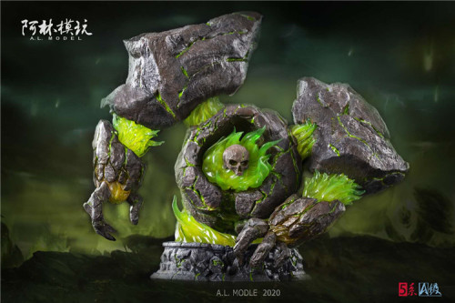 【Preorder】AL Model Warcraft3 Inferno resin statue's post card