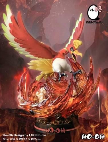 【In Stock】EGG Studio Pokemon Ho-Oh Resin Statue