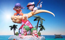 【Preorder】THOR Studio Dragon Ball Arale&Goku resin statue's post card