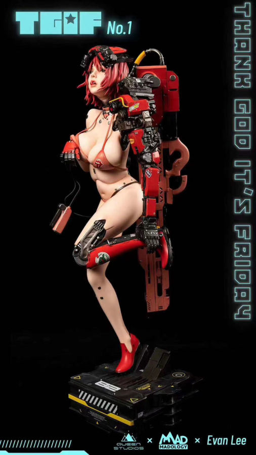 【Preorder】Queen Studio x MADology TGIF No.1 resin statue's post card