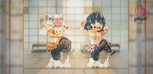 【In Stock】YOYO-studio Demon Slayer Hashibira Inosuke resin statue