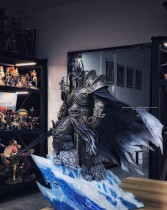 【In Stock】Cat Fish Studio Warcraft3/Dota/Wow Lich King Arthas Menethil 1/4 resin statue