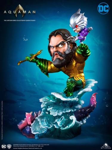 【Preorder】Queen Studio DC Aquaman SD scale resin statue's post card