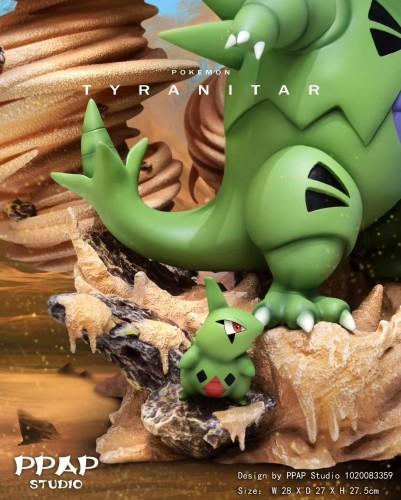 【In Stock】PPAP Studio Pokemon Tyranitar Family resin statue