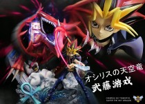 【In Stock】WASP Studio Yu-Gi-Oh! Slifer the Sky Dragon OSHIRISU NO TENKŪRYŪ resonance series resin statue