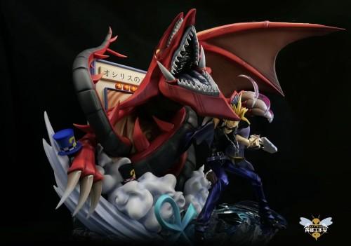 【In Stock】WASP Studio Yu-Gi-Oh! Slifer the Sky Dragon OSHIRISU NO TENKŪRYŪ resonance series resin statue