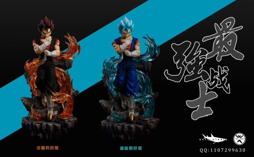 【Preorder】Light Weapons Studio Dragon Ball Vegetto resin statue's post card