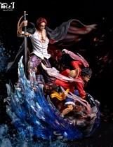【In Stock】Mr.J Studio ONEPIECE Shanks&Luffy resin statue
