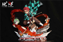 【In Stock】PT Studios x NB Studios Demon Slayer Tanjirou Resin Statue