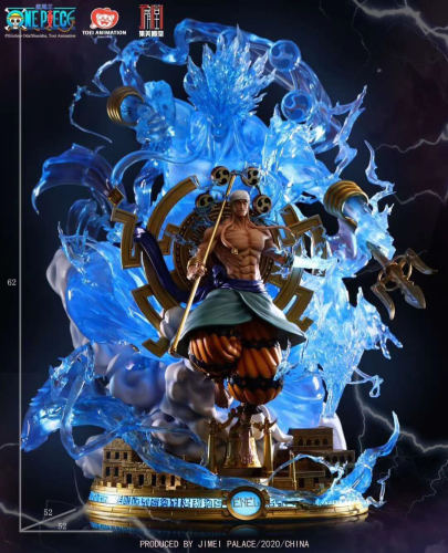 【In Stock】JIMEI Palace ONE PIECE Enel copyright resin statue