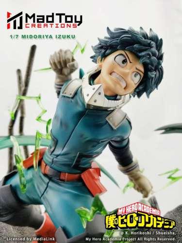 【Preorder】MadToy Creations My Hero Academia Midoriya Izuku copyright resin statue's post card