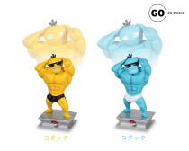 【Preorder】GO Studio Pokemon muscle Psyduck resin statue's postcard