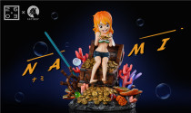 【Preorder】2603 Studio ONE PIECE Nami resin statue's post card