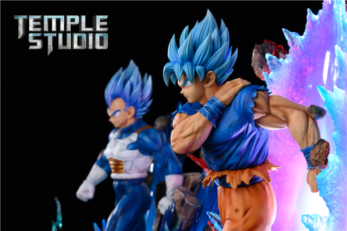 【In Stock】Temple Studio Dragon Ball Goku kaiouken resin statue