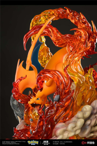 【In Studio】Iron Kite Studio Pokemon Charizard copyright resin statue