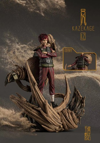 【In Stock】IZ Studio NARUTO Gaara Resin Statue
