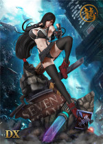 【Preorder】Dragon Studio FF7 Tifa resin statue's post card