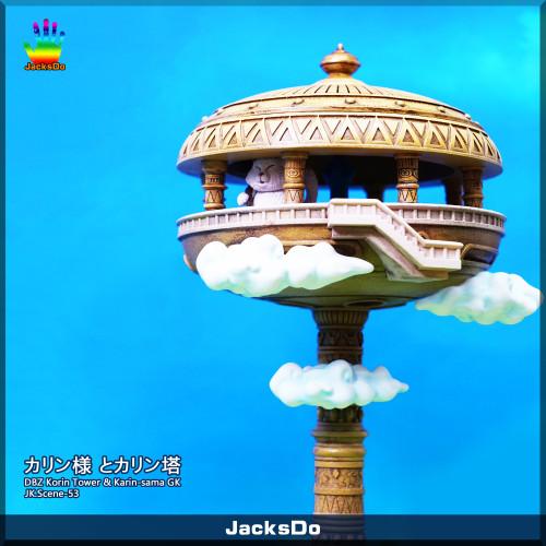 【In Stock】JacksDo Studio Dragon Ball Korin Tower & Karin-sama resin statue