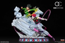 【Preorder】ONIRI Studio HUNTER x HUNTER Hisoka vs GON·FREECSS copyright resin statue's post card