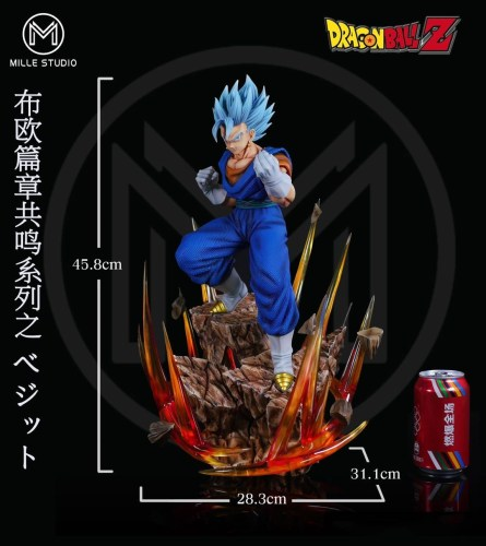 【Preorder】MILLE-Studio Dragon Ball Vegetto resin statue's post card