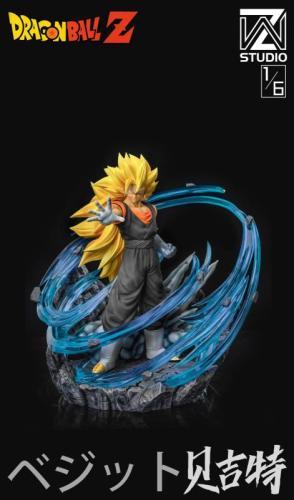 【Preorder】WZ Studio Dragon Ball Vegetto resin statue's post card