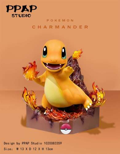 【In Stock】PPAP Studio Pokemon Bulbasaur Charmander Squirtle resin statue