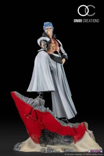 【Preorder】ONIRI BLEACH Grimmjow Jeagerjaques OC original resin statue's post card (copyright)