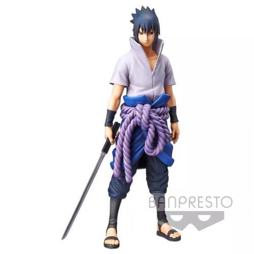 【In Stock】Banpresto Naruto Grandista nero Uchiha Sasuke PVC Statue
