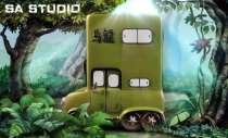【Preorder】SA Studio Dragon Ball Oolong vehicle resin statue's post card