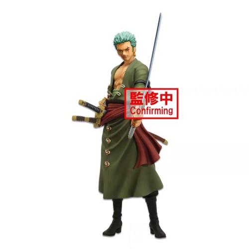 【In Stock】BANPRESTO ONE PIECE Grandista GROS Roronoa Zoro Sword Duel PVC Figure